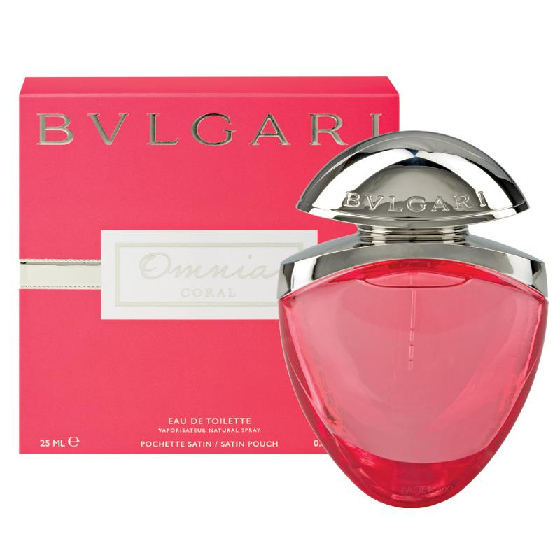 omnia coral edt by bvlgari scent samples. Black Bedroom Furniture Sets. Home Design Ideas